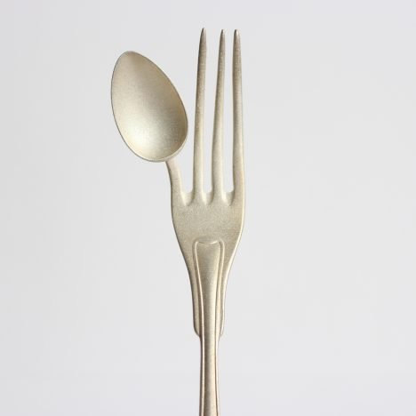 Designers craft purposefully absurd cutlery to slow down dining