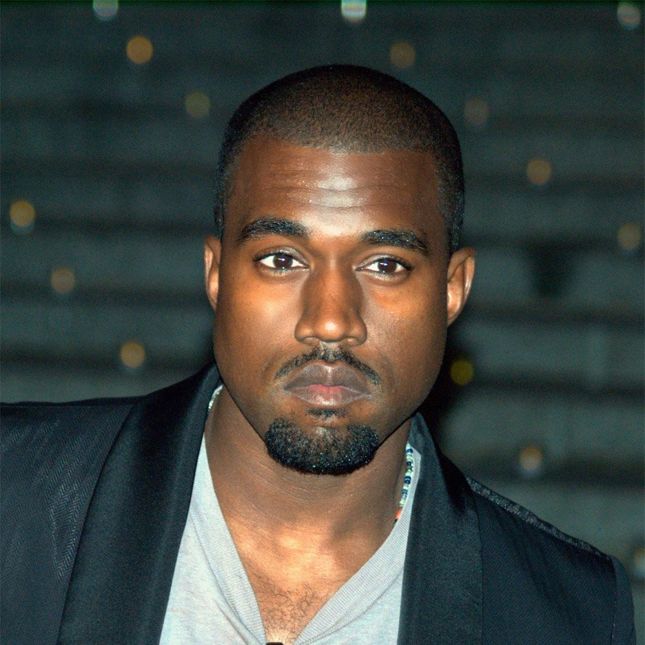 Rapper Kanye West at the Tribeca Film Festival