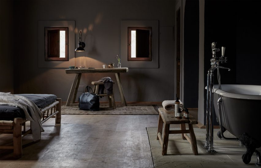 """La Granja Ibiza is a members-only retreat with a rustic """"back-to-basics"""" design"""