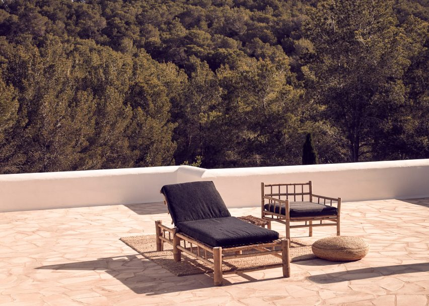 "La Granja Ibiza is a members-only retreat with a rustic ""back-to-basics"" design"