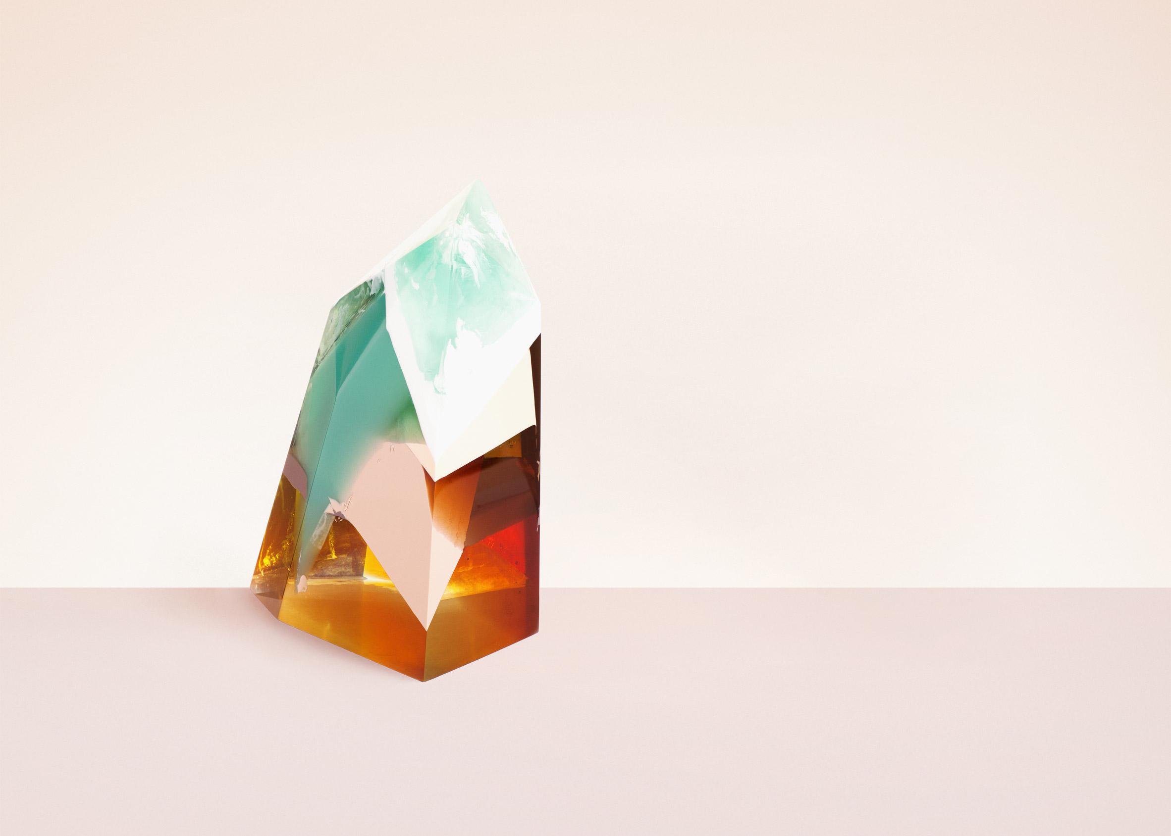Zuza Mengham interprets perfume in resin for Sculpting Scent exhibition