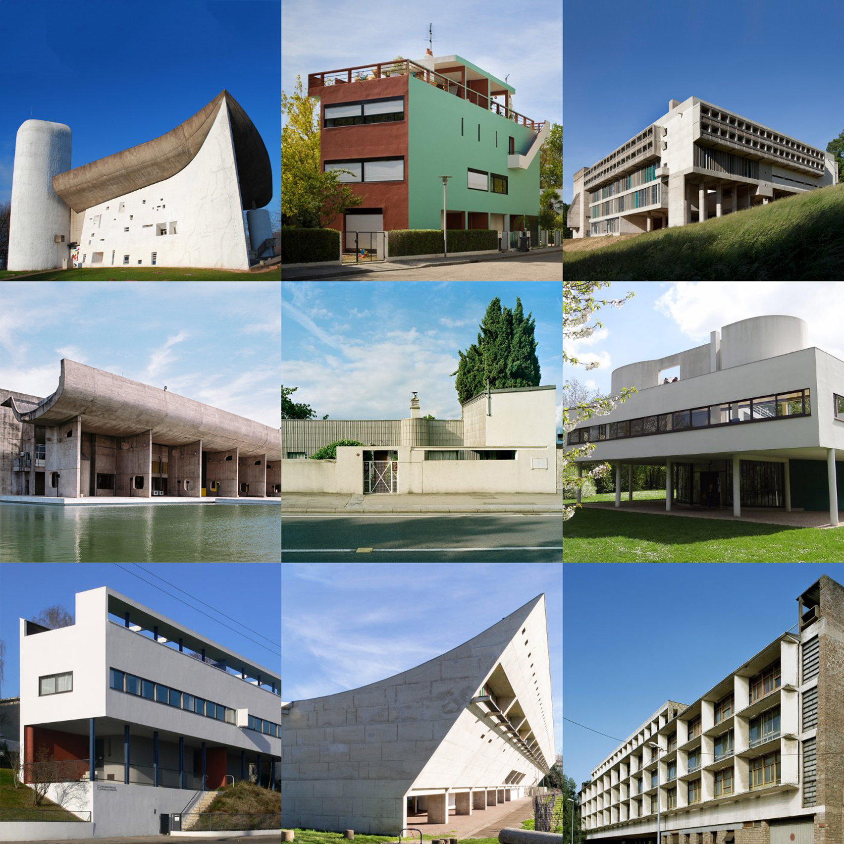 Le corbusier furniture celebrate le corbusier top 5 most famous works - Discover Le Corbusier S Most Important Architecture On Dezeen S New Pinterest Board