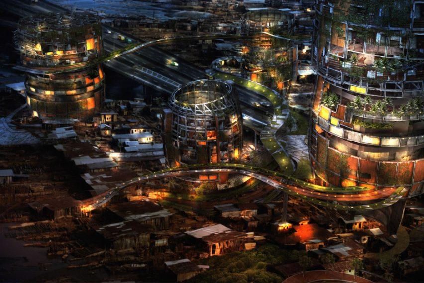 Shanty Megastructures by Lekan Jeyifo