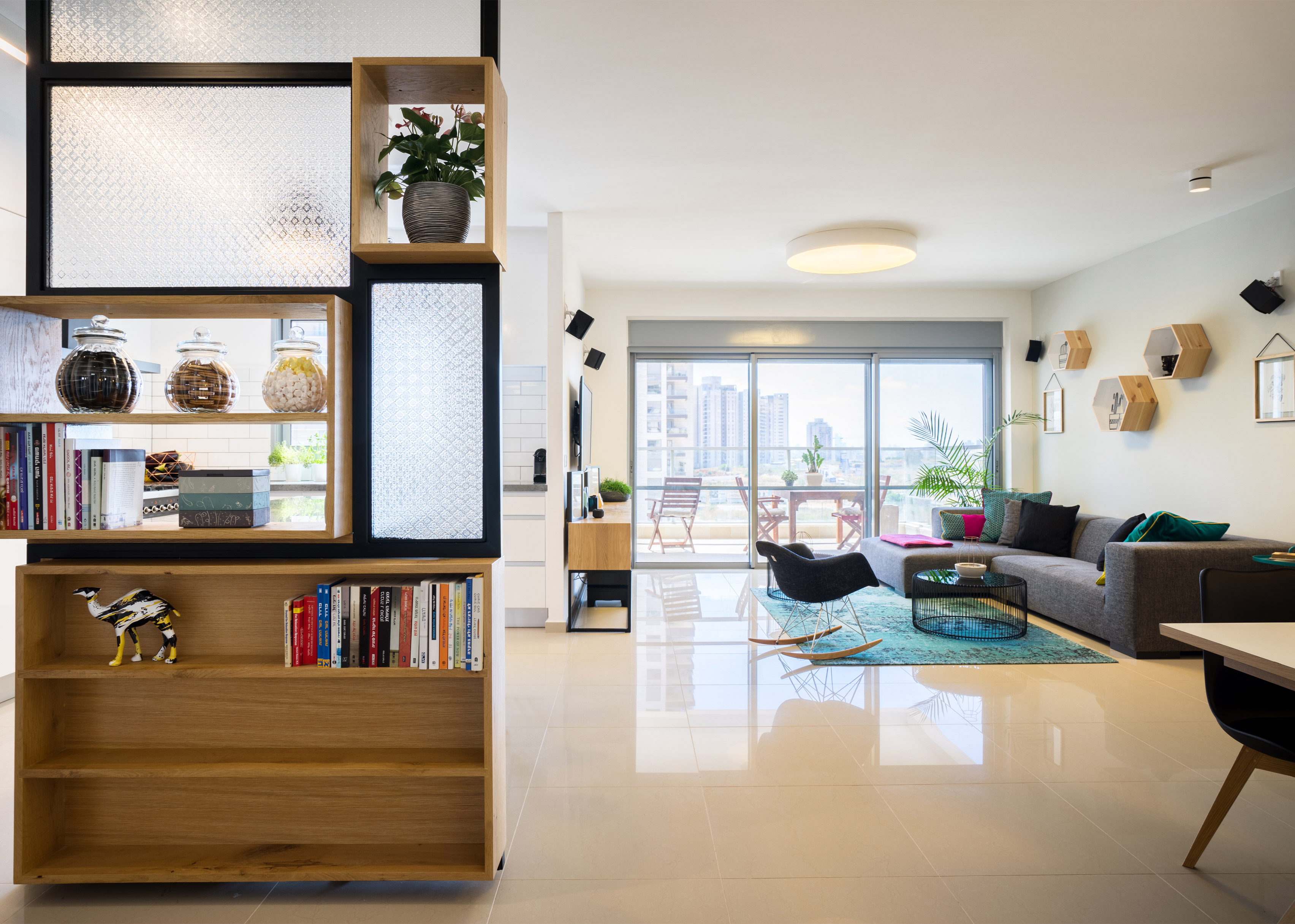 Little Drop of Black apartment by Lital Dayee