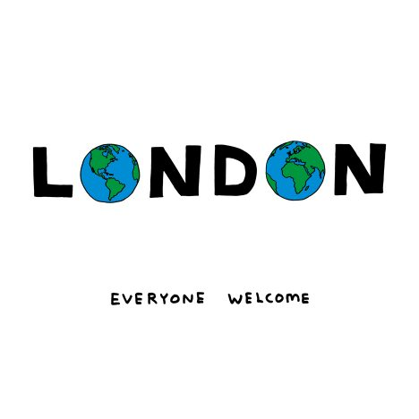 David Shrigley and Sadiq Khan launch LondonIsOpen poster campaign for the Tube