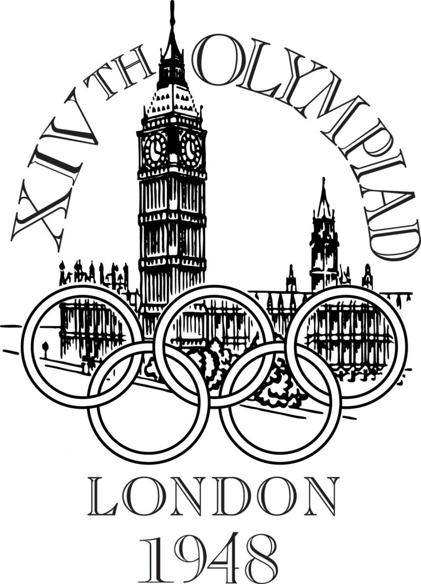 Logo of the 1948 London Olympics