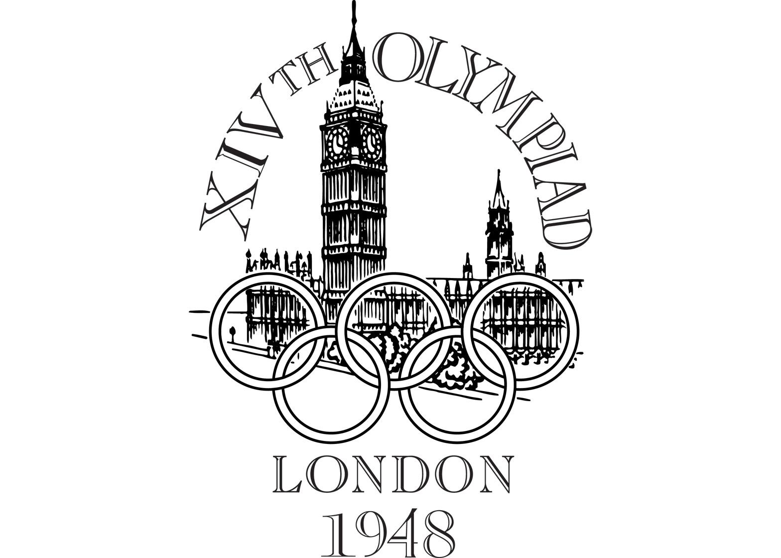 Logo of the 1948 London Olympics