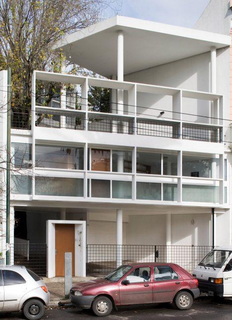Le Corbusier's Maison Curutchet in Argentina has a tree at its centre