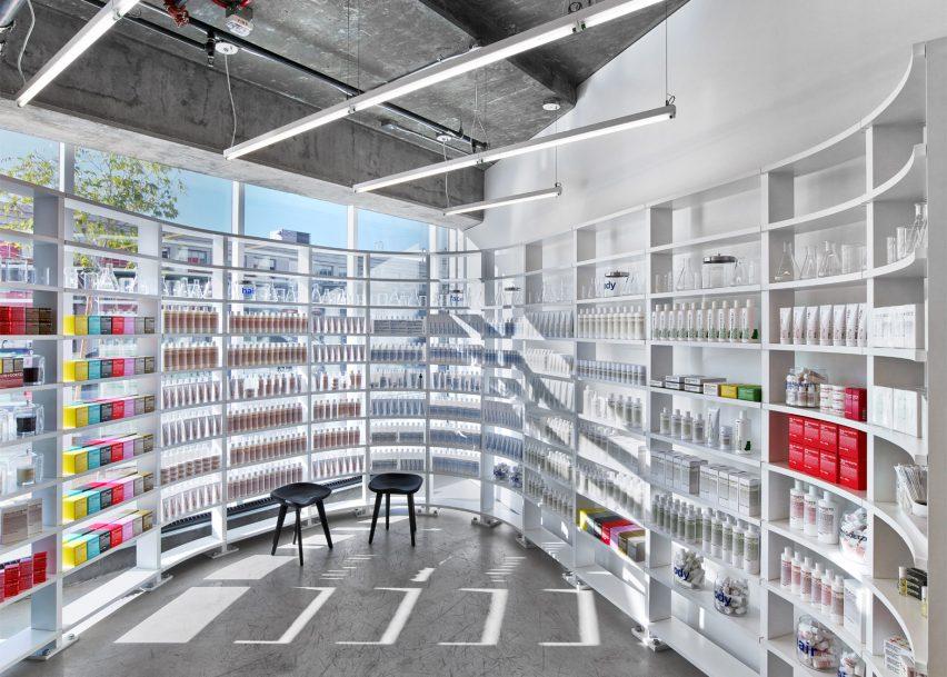 Malin+Goetz Los Angeles Store by Messana-O'rorke