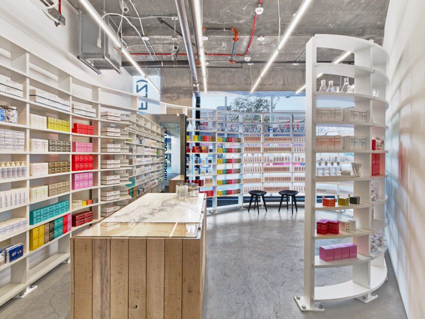 Malin+Goetz Los Angeles Store by Messana-O'rorke