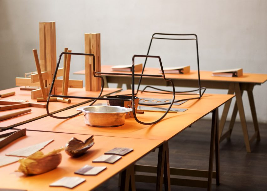 Design in Process exhibition shows unfinished works by Mexican designers