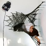 "Wall-climbing mini robots build ""entirely new structures"" from carbon fibre"