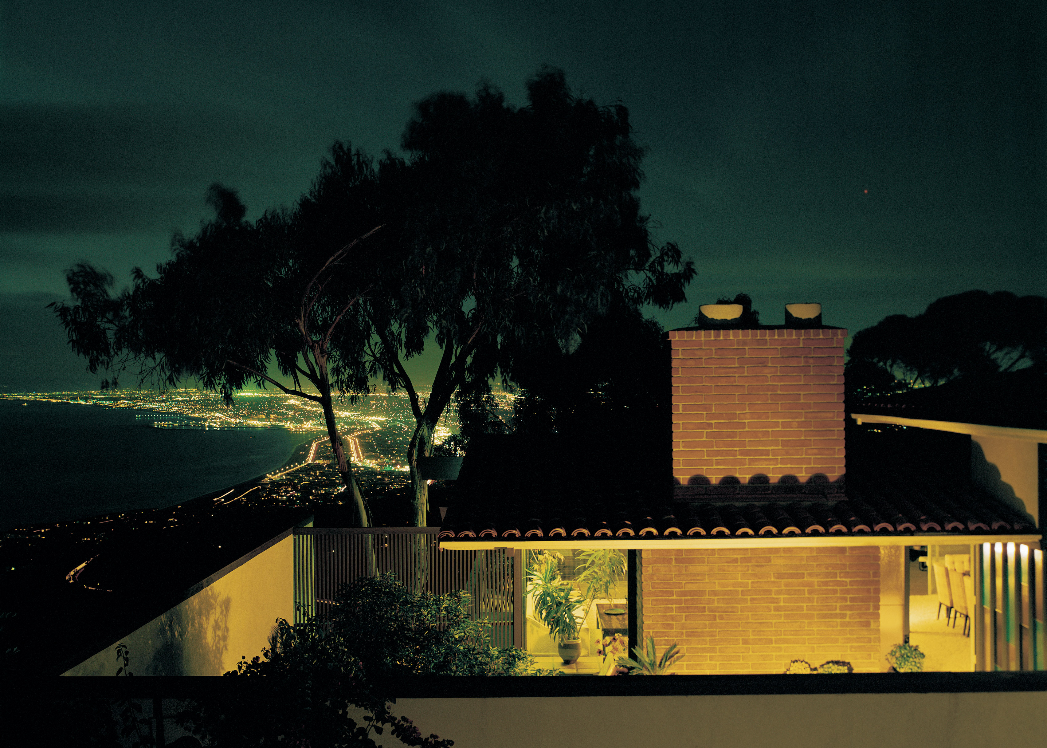 Greenberg Residence by Buff & Hensman, Palos Verdes, California, photographed in 1966