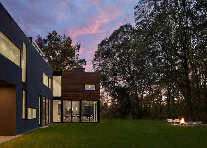 21 of 23; Mohican Hills House by Robert Gurney Architect