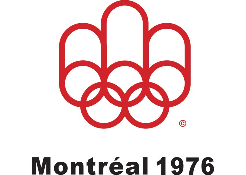 Logo of the 1976 Montreal Olympics