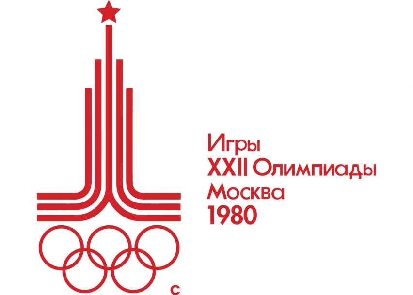 Logo of the 1980 Moscow Olympics