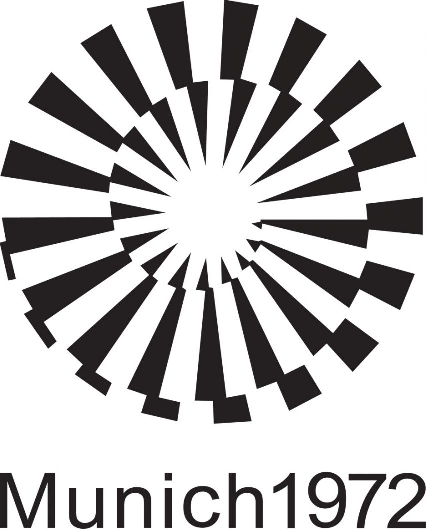 Logo of the 1972 Munich Olympics