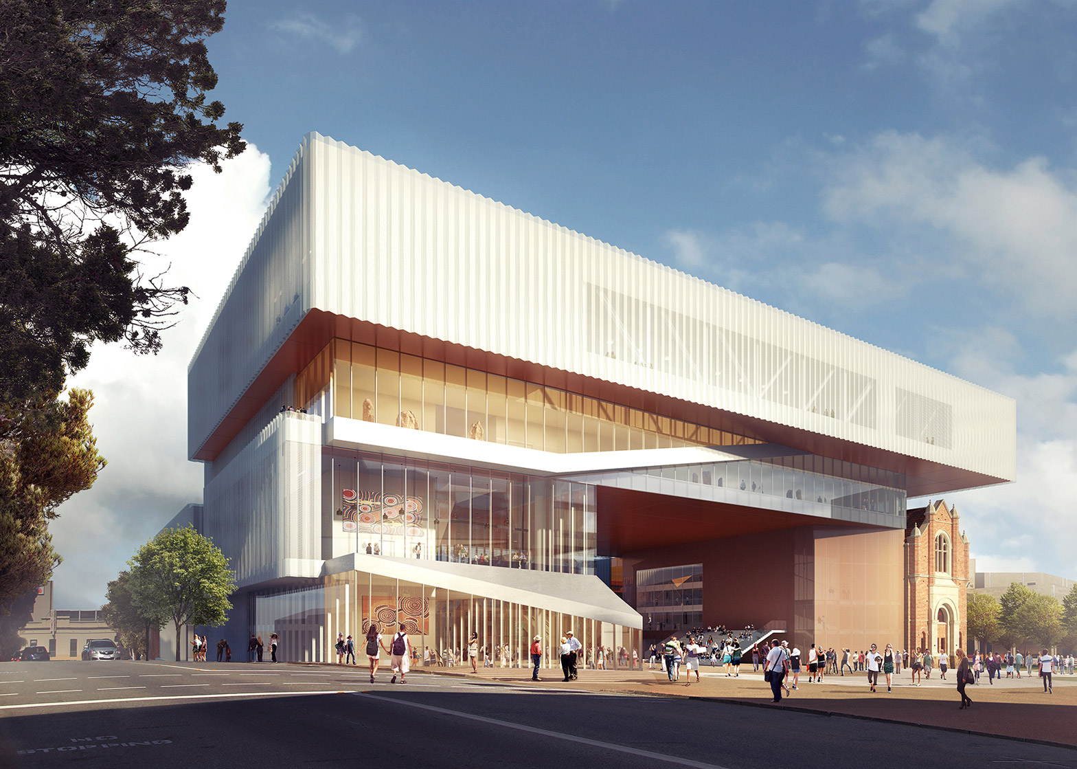 Oma and hassell design new museum for western australia for Australian architecture