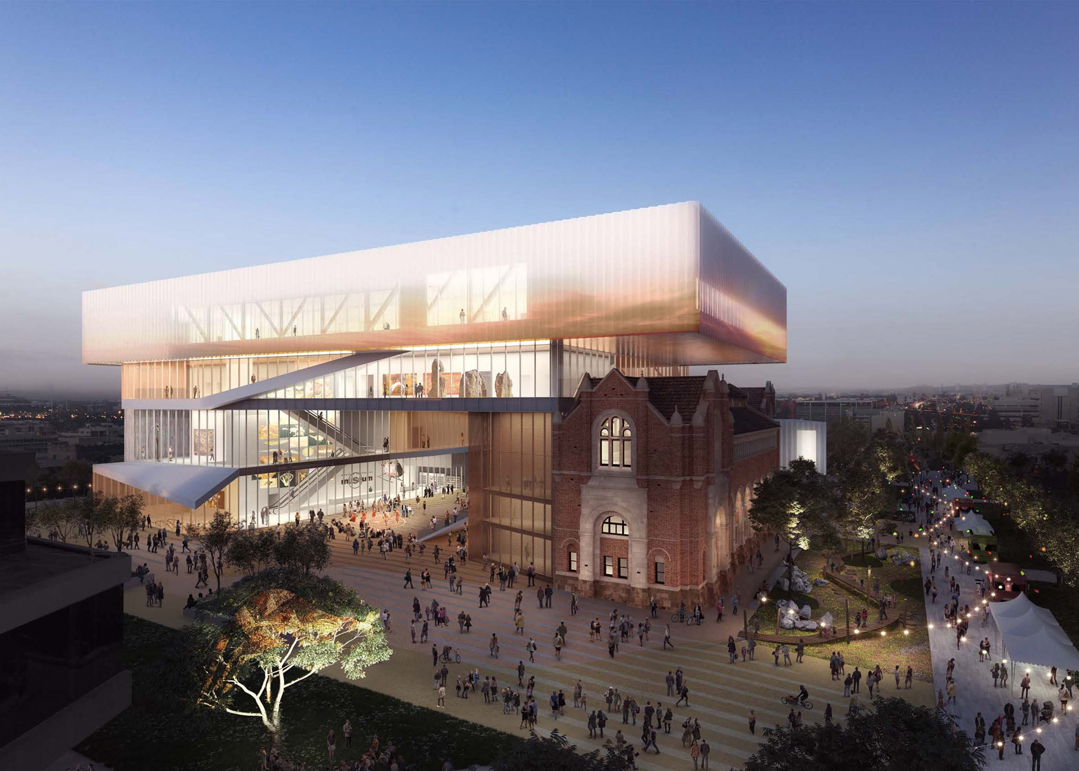 New Museum for Western Australia by Hassell and OMA
