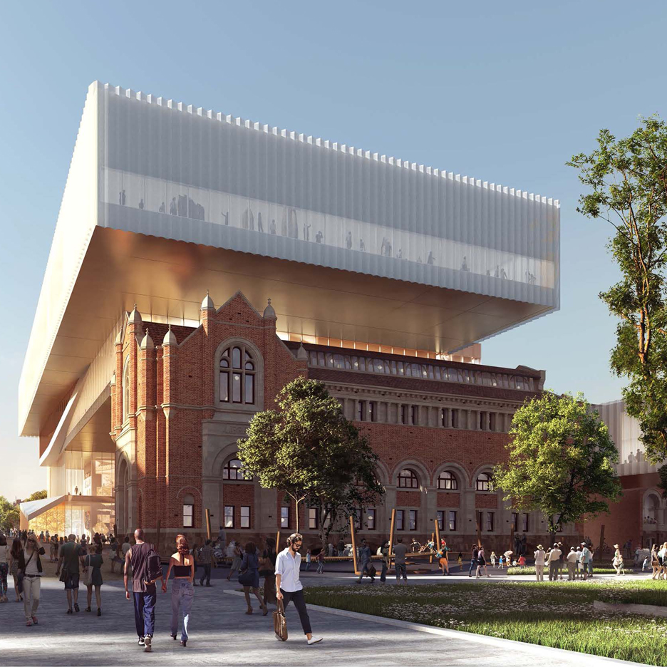 Oma and hassell design new museum for western australia for Architecture firms perth