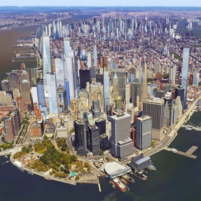 New York skyline 2020