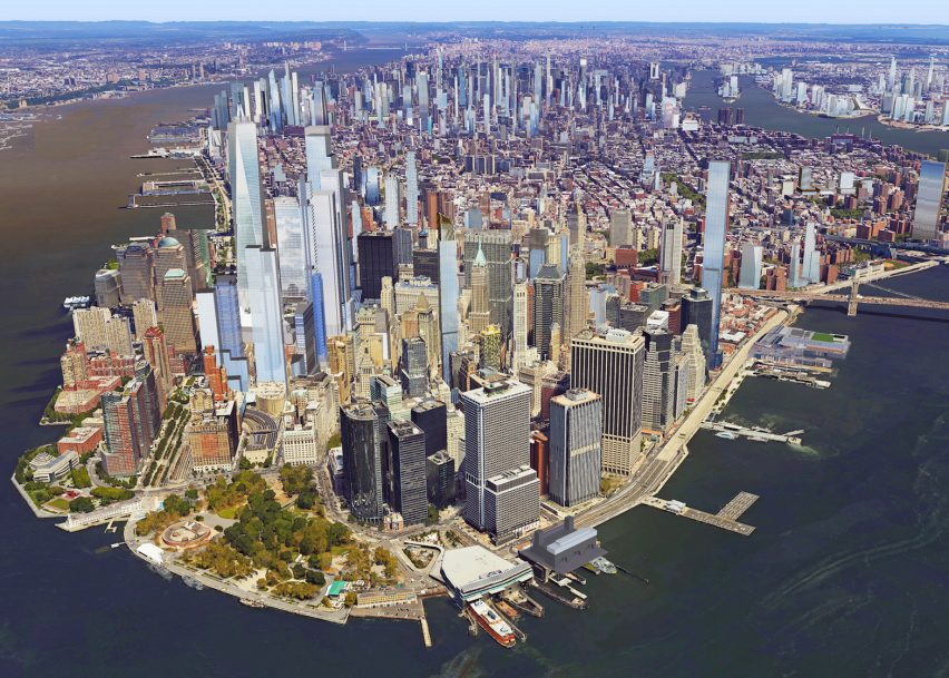 New York skyline 2020