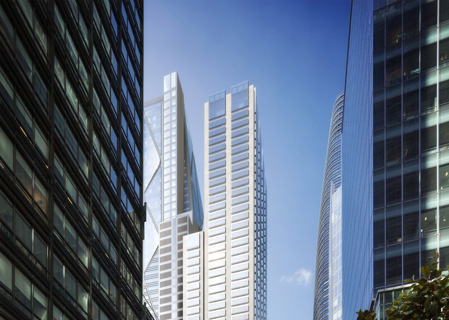 Oceanview development by Foster + Partners