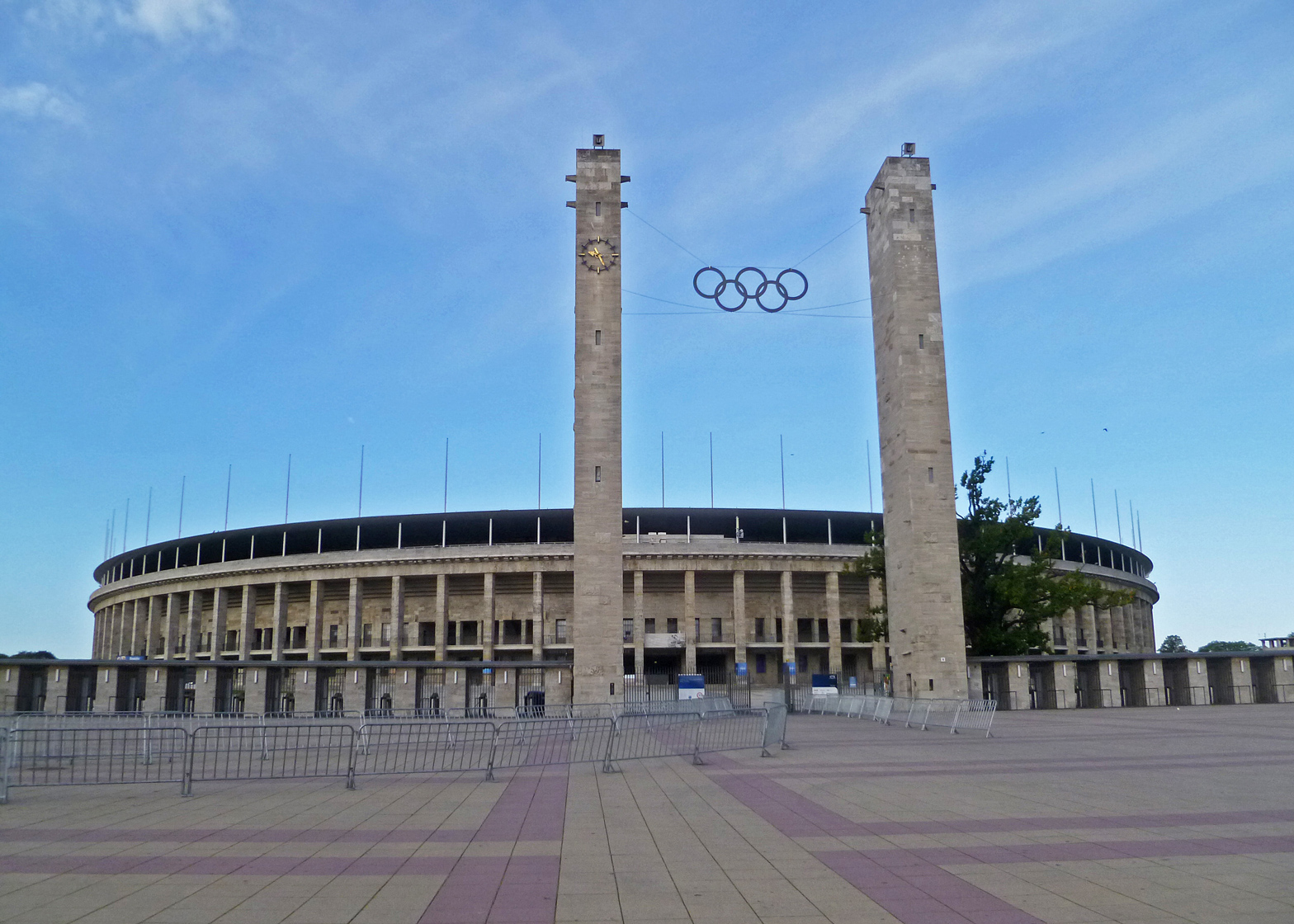 Olympiastadion by Werner March, Berlin 1936