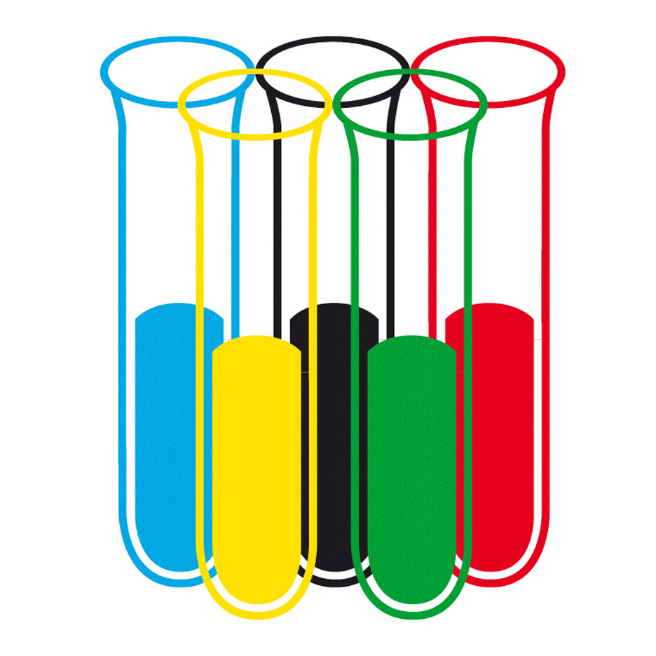 Olympic Flag redesign by Bjoern Karnebogen
