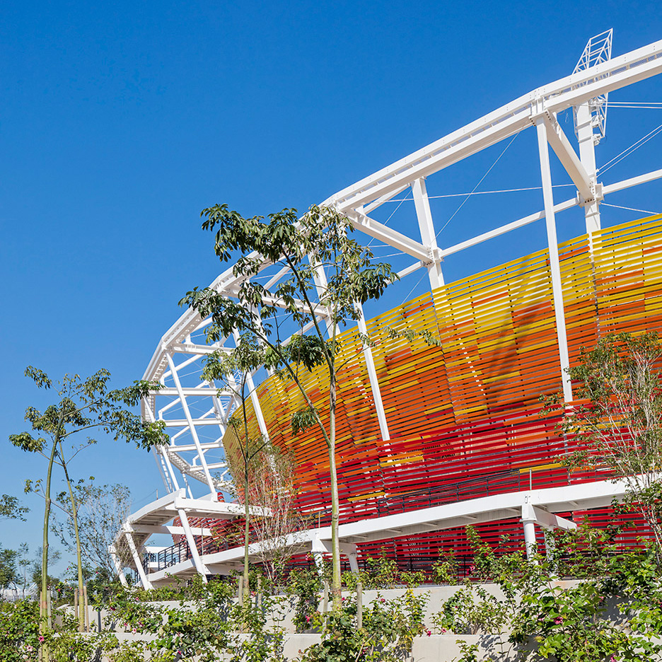 Tennis Centre, Barra Olympic Park, by Blac Arquitetura
