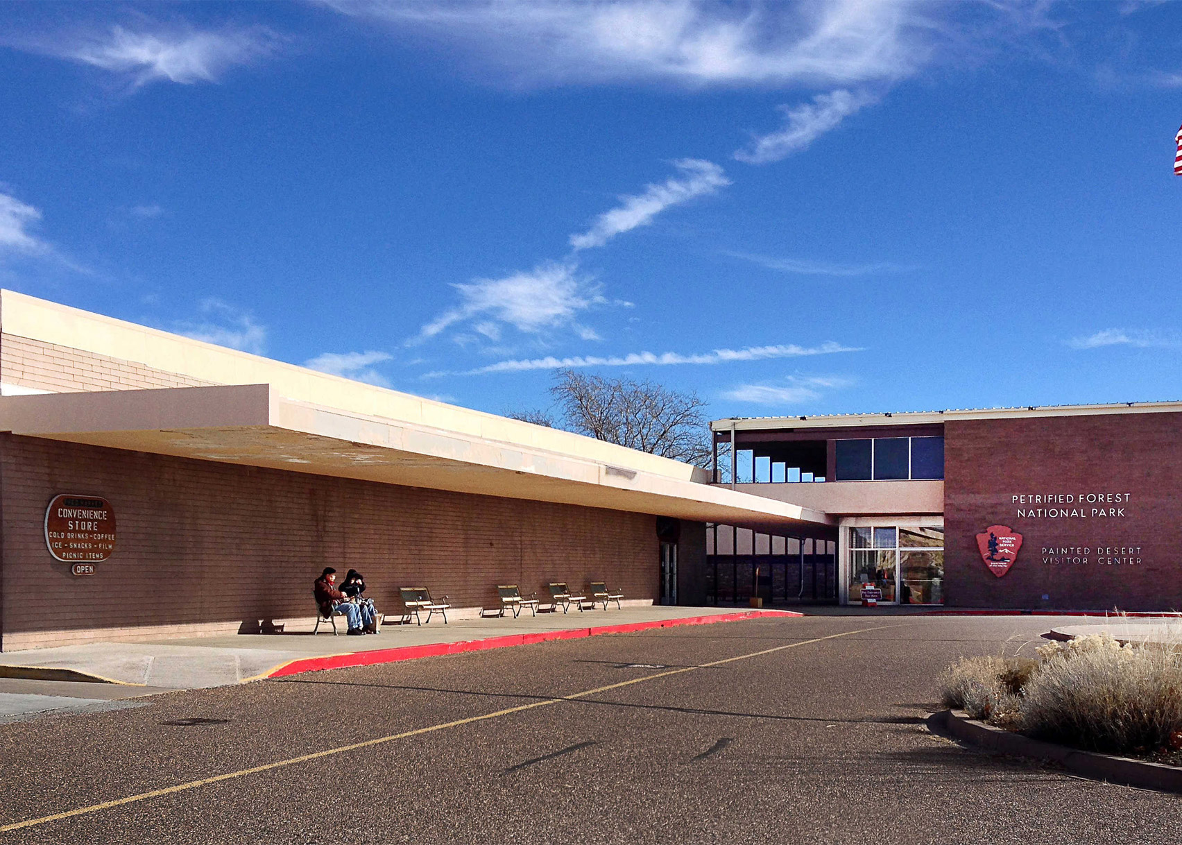 Painted Desert Community Center, Petrified Forest National Park, by Richard Neutra and Robert Alexander, 1963