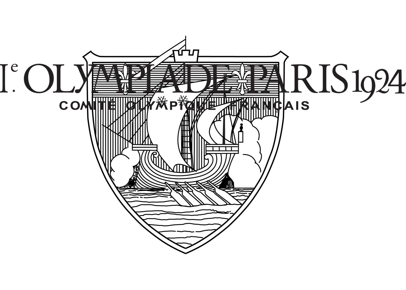 Logo of the 1924 Paris Olympics