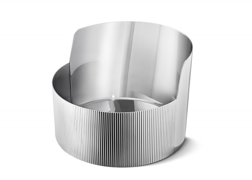 "Patricia Urquiola designs ""warm and masculine"" collection for Georg Jensen"