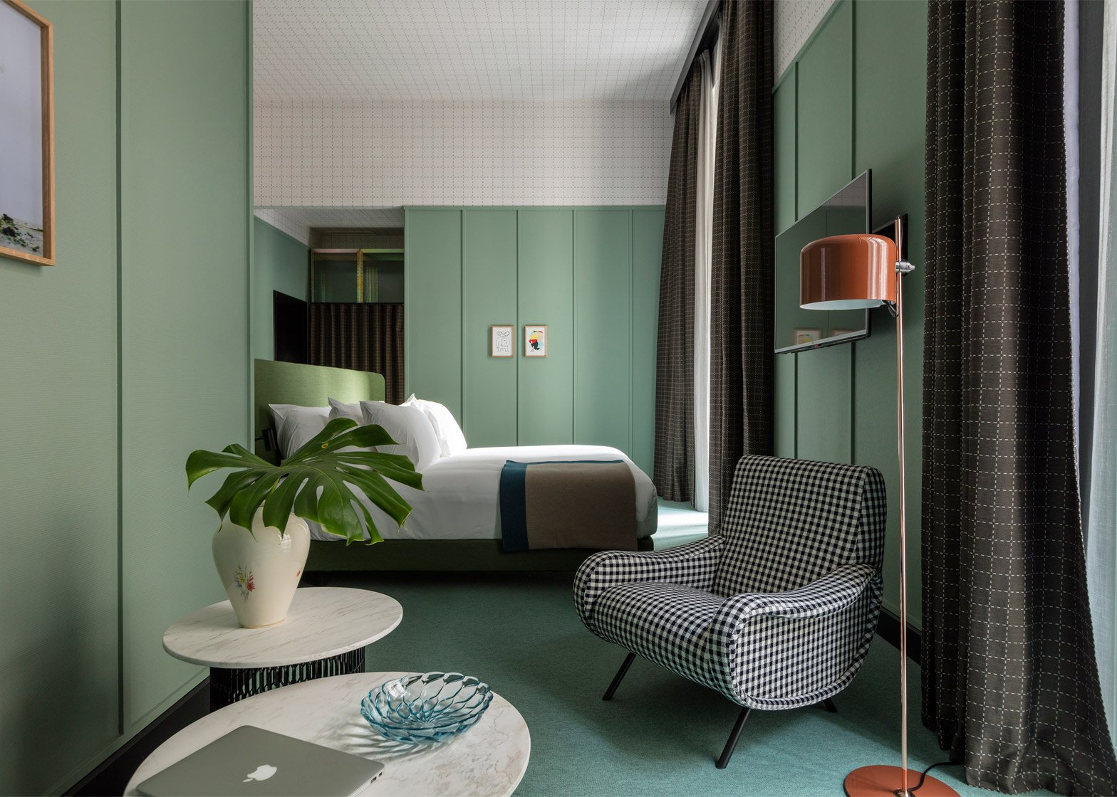 Patricia Urquiola designs Milan outpost for Room Mate Hotels chain