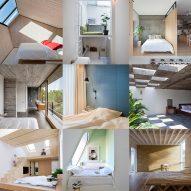 10 of the most popular bedrooms from Dezeen's Pinterest boards