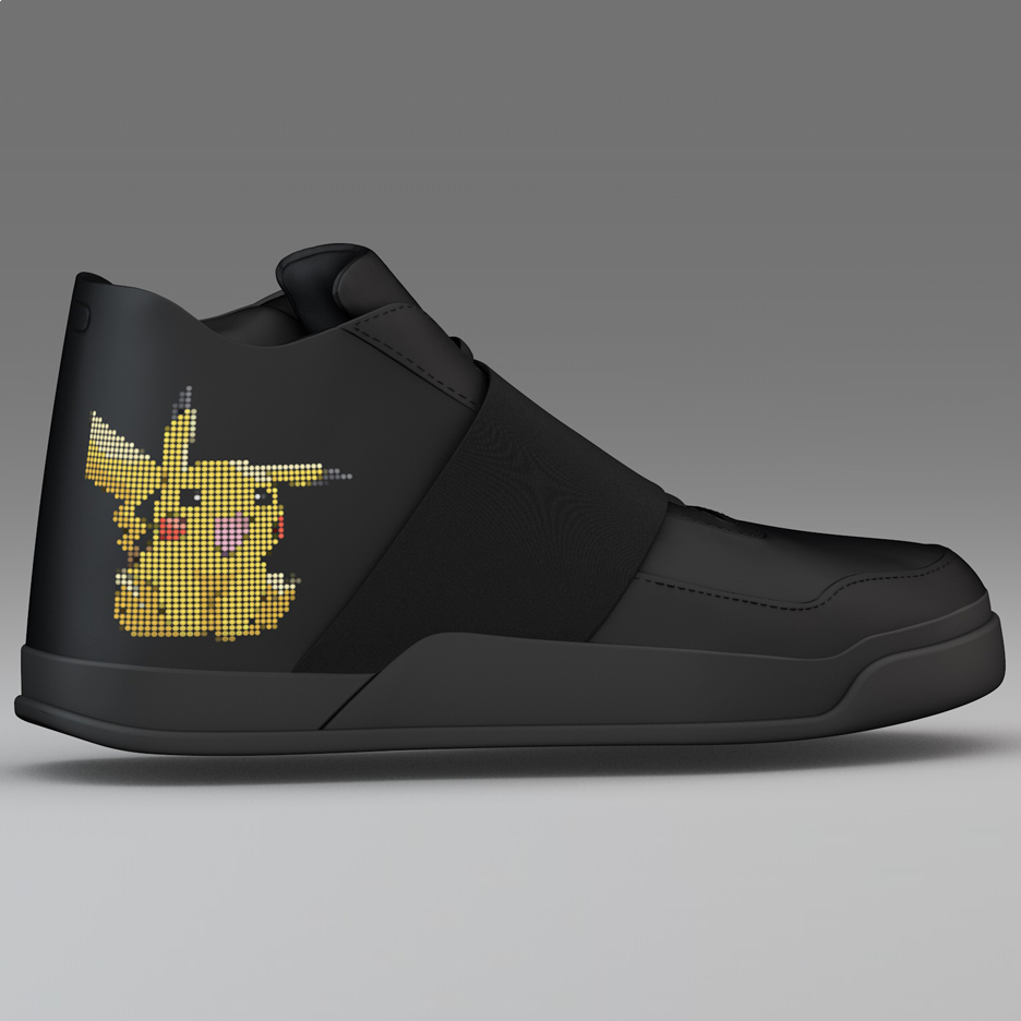 Vibrating sneakers by Vixole help players of Pokémon GO
