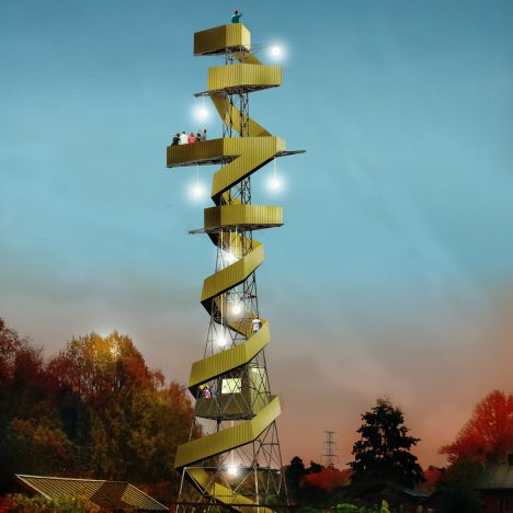 "Stockholm pylons converted into ""picnic towers"" in plans by architect Anders Berensson"