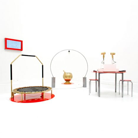 Inefficiency Machines by Meret Vollenweider and Wasabii Ng highlight energy use in the home