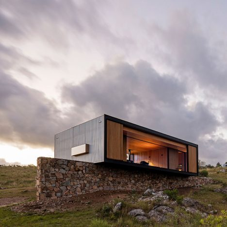 MAPA designs prefabricated house then ships it 200 kilometres to Uruguayan olive grove