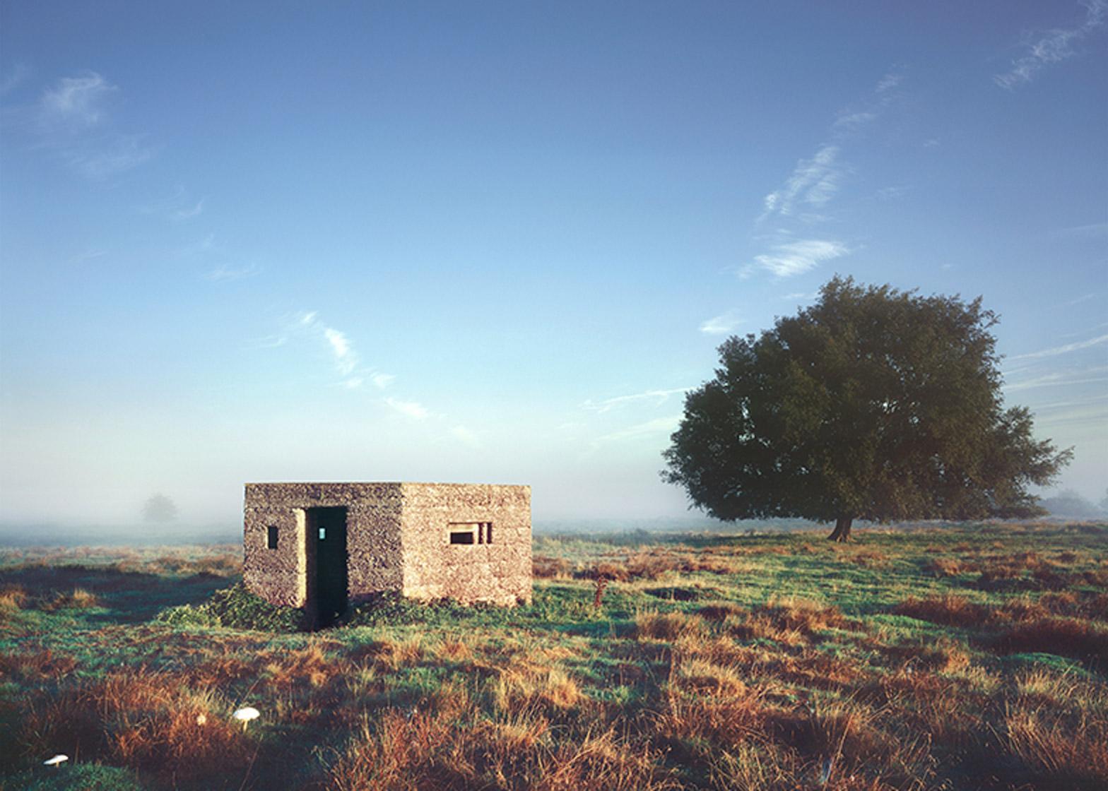 Defensive Structures in the British Landscape by Richard Brine