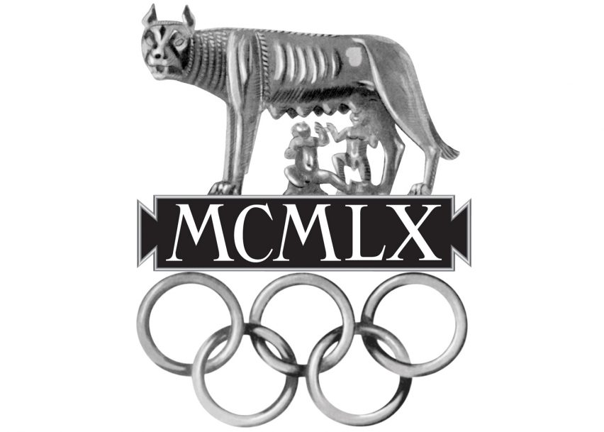 Logo of the 1960 Rome Olympics