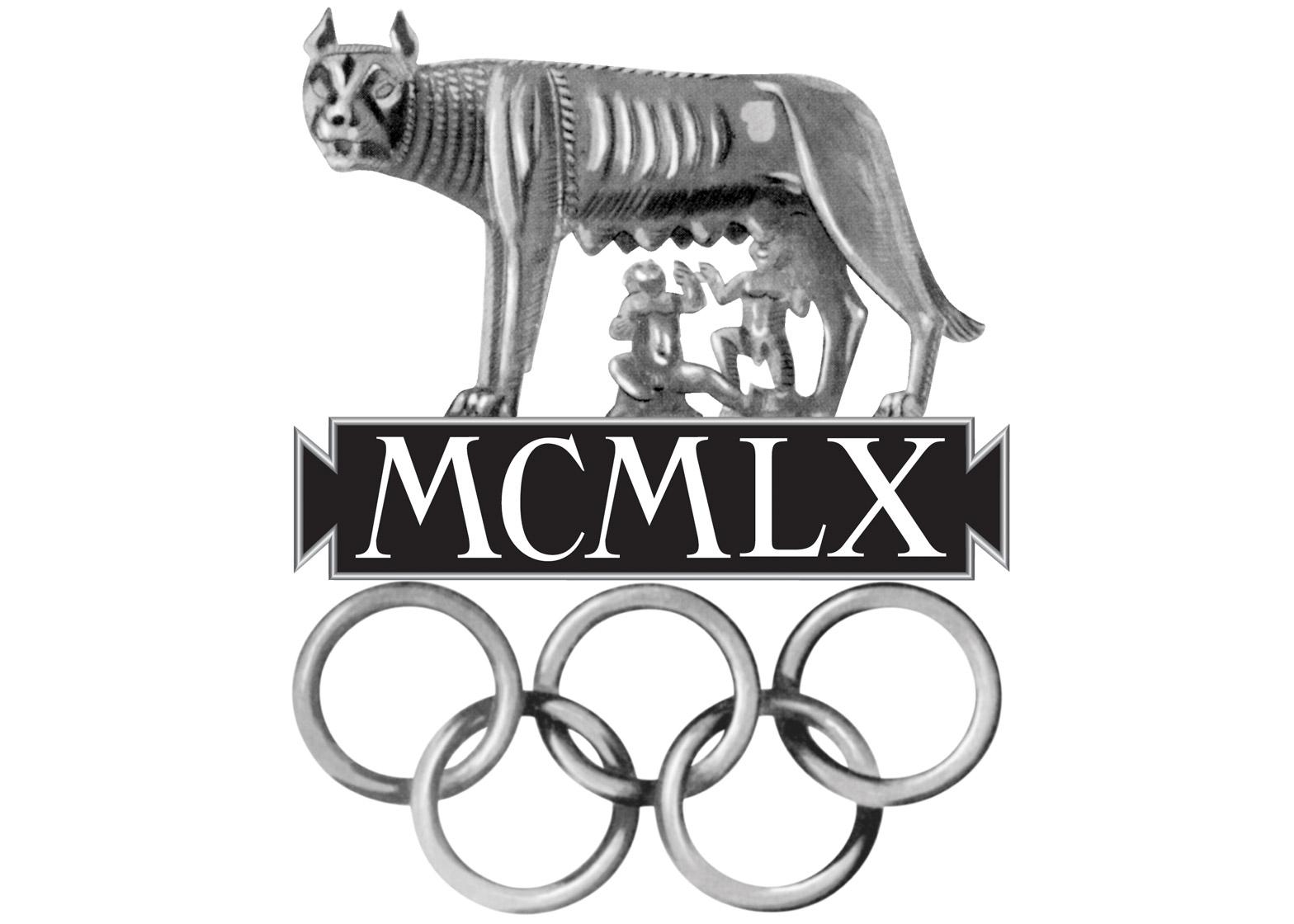 Logo of the 1960 Rome Olympics