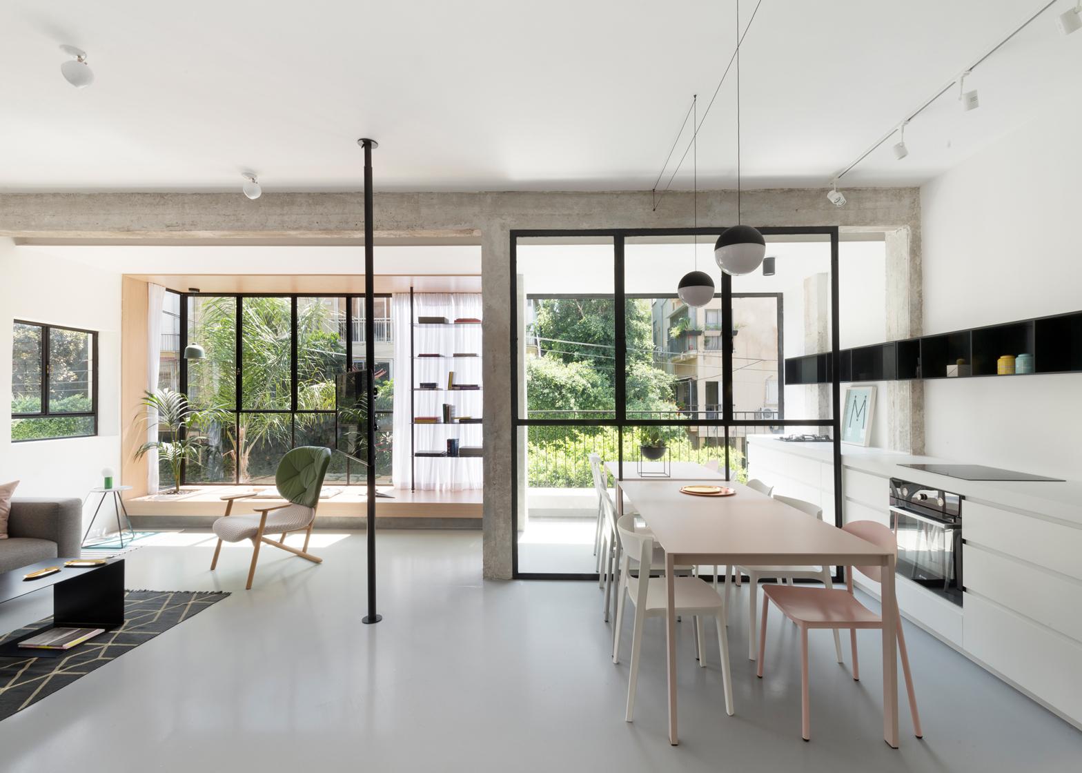 Maayan Zusman and Amir Navron renovate an apartment in Israel