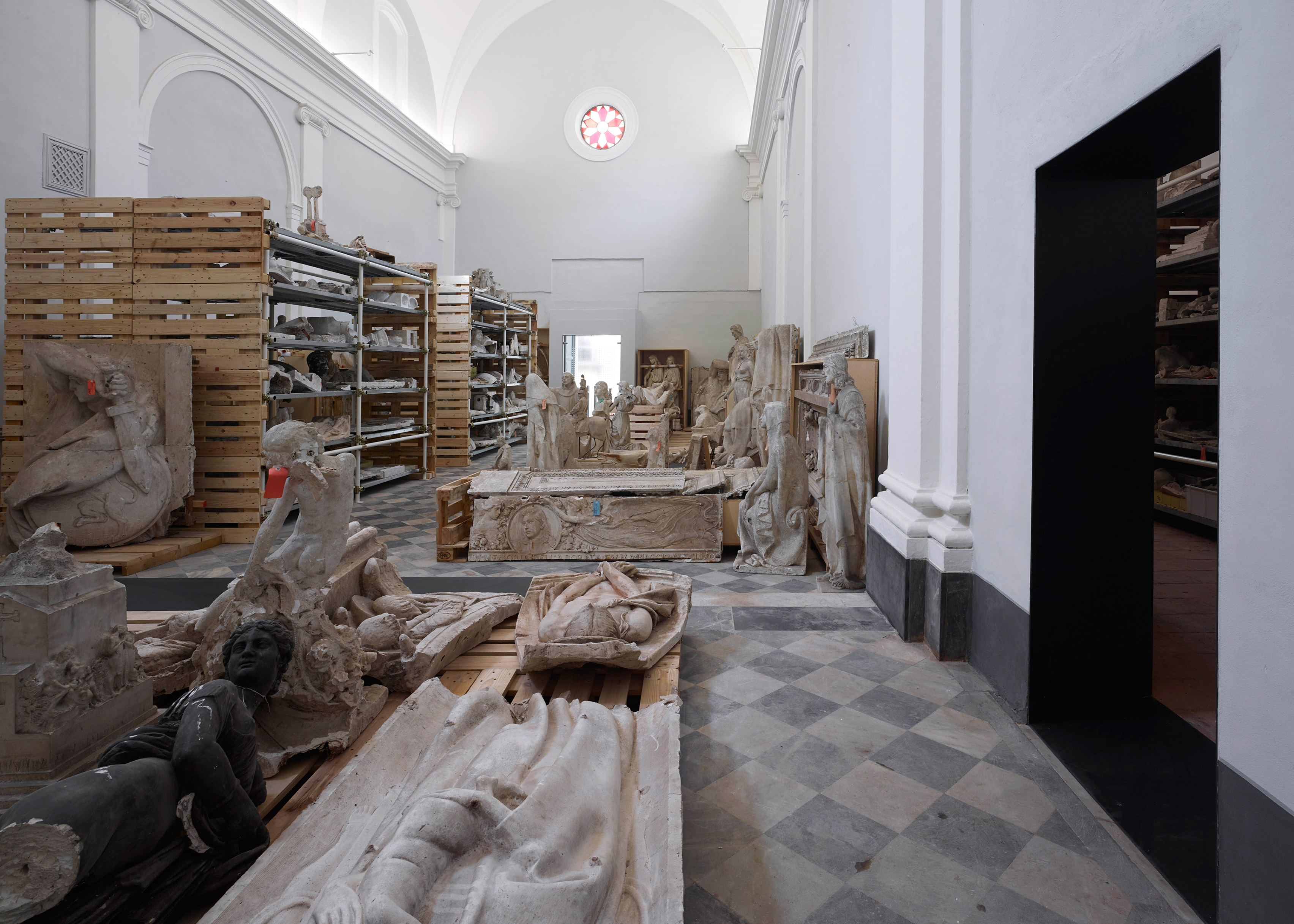 San Pellegrino Church restoration by Microscape