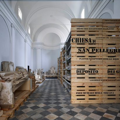 Storage Crates Form Plinths For Sculptures Inside Microscapeu0027s Tuscan Church  Conversion