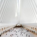 Calatrava's Oculus at the World Trade Center photographed by Hufton + Crow