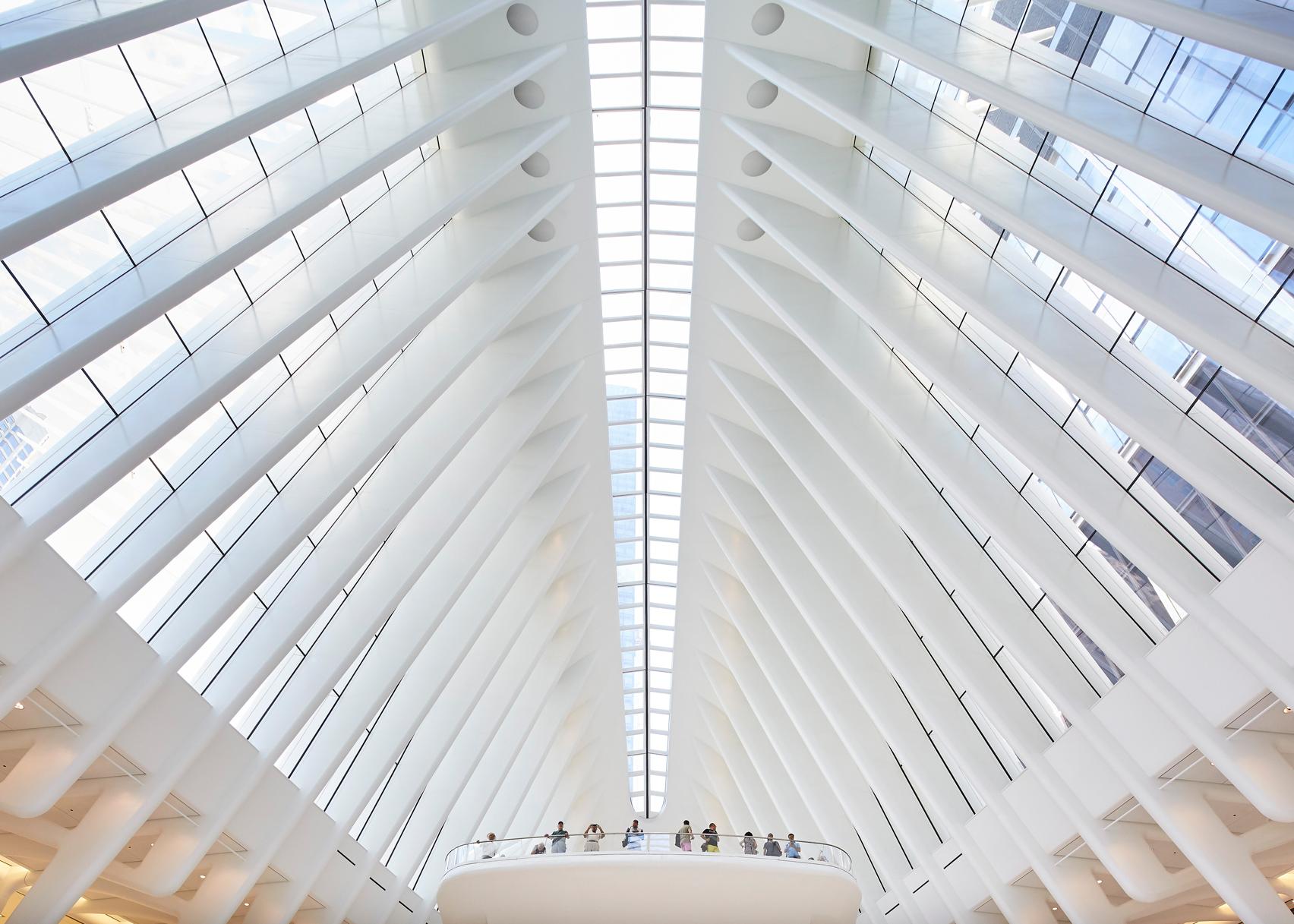 World Trade Center Transportation Hub Oculus by Santiago Calatrava