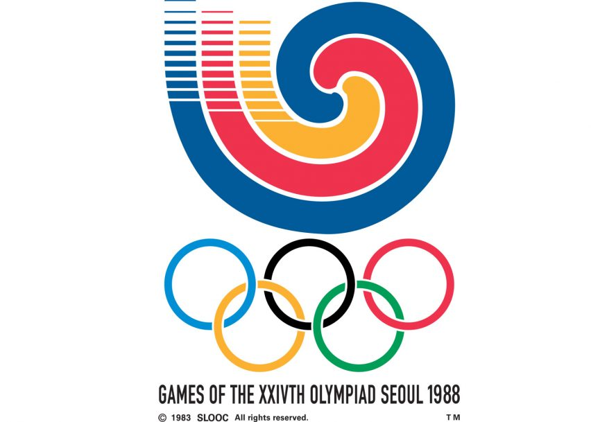 Logo of the 1988 Seoul Olympics