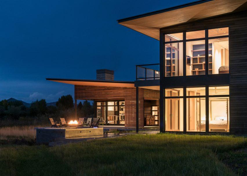 Shoshone Residence by Carney Logan Burke