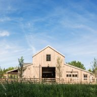 Lloyd Architects and Louise Hill Design build community-oriented farmhouse in Utah